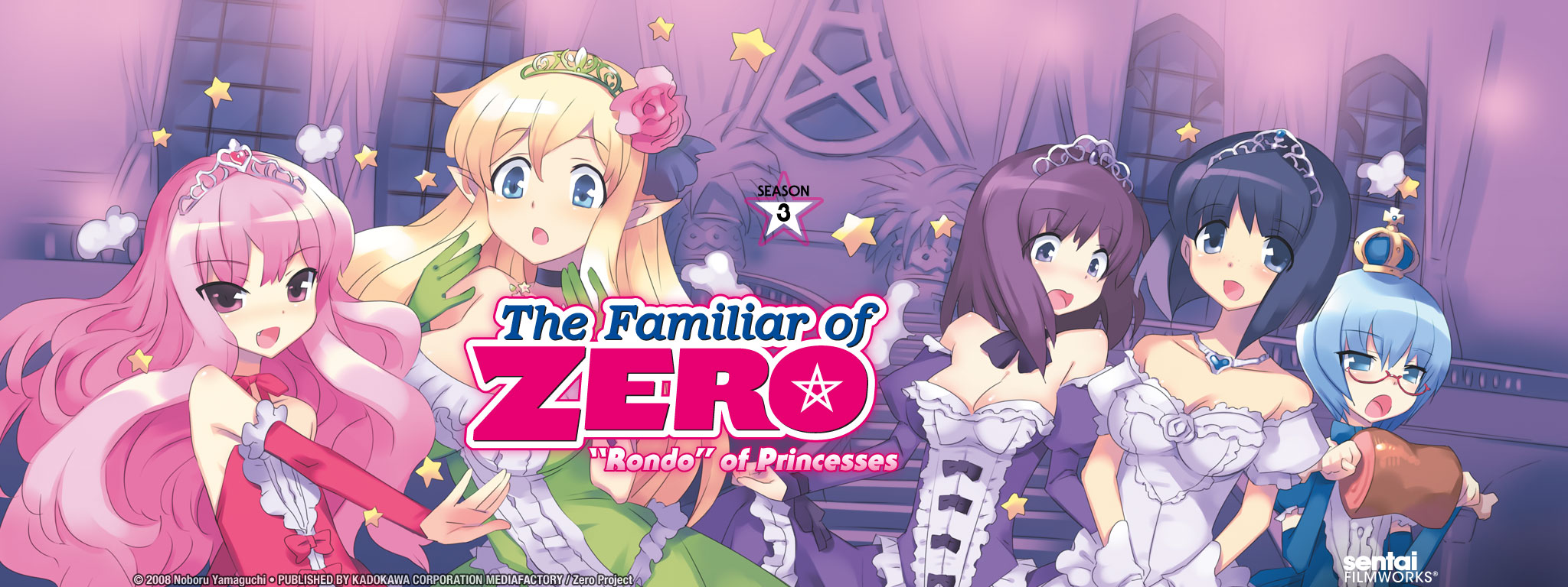 "The Familiar of Zero: ""Rondo"" of Princesses"