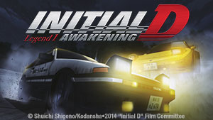 New Theatrical Movie Initial D Legend 1: Awakening